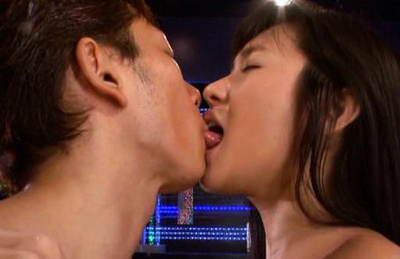 Nana ogura. Elegant Nana squarting as he pounds his heavy cock