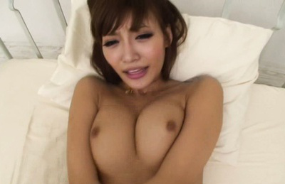 Kirara asuka. Great boobs kirara taking hot cumshot on her boobs after a pretty have sex