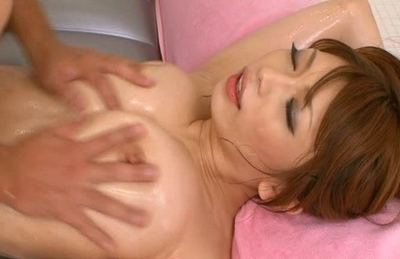 Hikari Hino fucks hard and has her titties squeezed because it gets her off