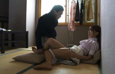 Ria horisaki. Young Ria Horisaki becomes wet getting licked and fingered