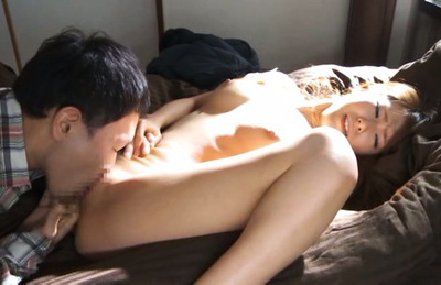 Ria horisaki. Shy Ria Horisaki spreads legs for a hot sex on the sofa