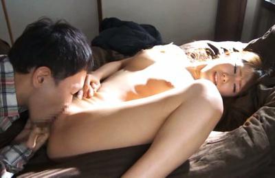 Ria horisaki. Shy Ria Horisaki spreads legs for a hot sex on the