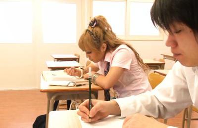 Megu hazuki. Nice Megu Hazuki craves sex in the school and