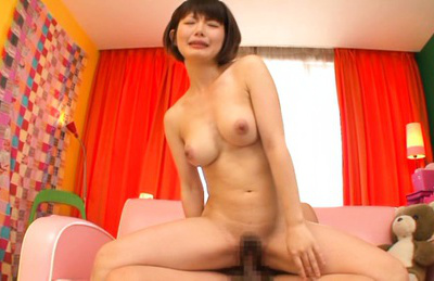 Minami aida. Minami Aida Asian curvy is kissed while is nailed