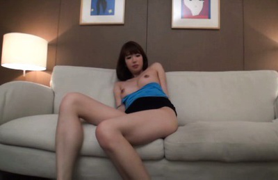 Japanese av model. Japanese AV Model has big tits exposed and