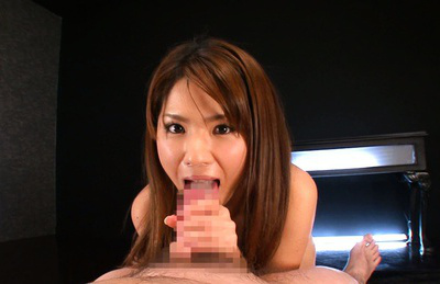 Nanami sakura. Nanami Sakura Asian has a passion for sucks and stroking dicks
