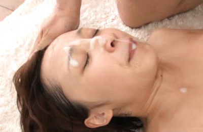 Ayumi kimino. Ayumi Kimino Asian with hot titties has cumshot on face after have intercourse