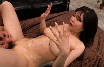Anri okita. Busty Anri Okita banged heavy by crazy man and