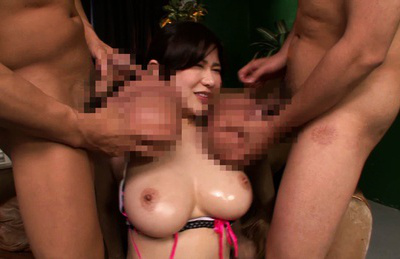 Anri okita. Busty Anri Okita meets dicks with giant balls and blowjob it