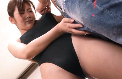 Kanan mizuki. Kanan Mizuki Asian has boobs licked while she touches heavy penis