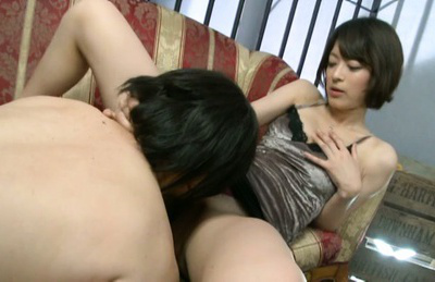 Mikoto tsukawa. Mikoto Tsukawa Asian in silver lingerie has cunt licked by hunk