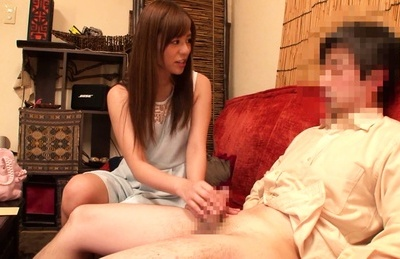 Rina rukawa. Rina Rukawa Asian sucks penis and strokes it