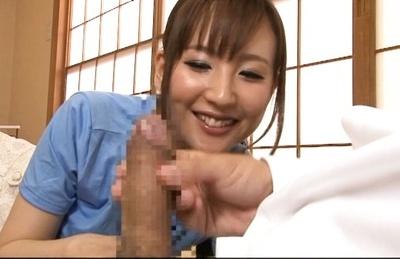 Kaori saejima. Kaori Saejima Asian cutie encounters considerable