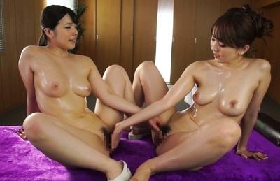 Ai uehara. Ai Uehara Asian and babe with oiled boobies