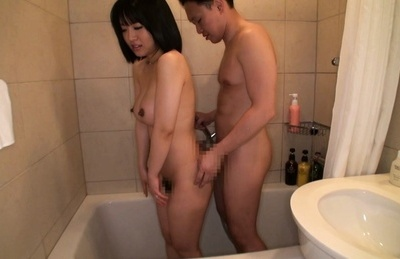 Seri asami. Seri Asami Asian with dark nipples has love