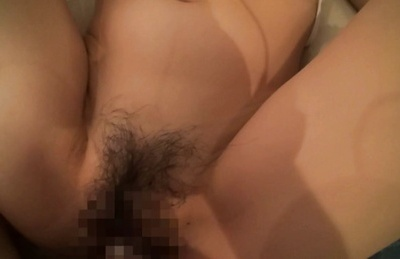 Amateur. Amateur Asian with sweet bust has haired twat