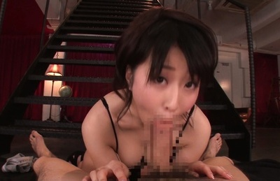 Arisa misato. Arisa Misato Asian blow penish and rubs her twat